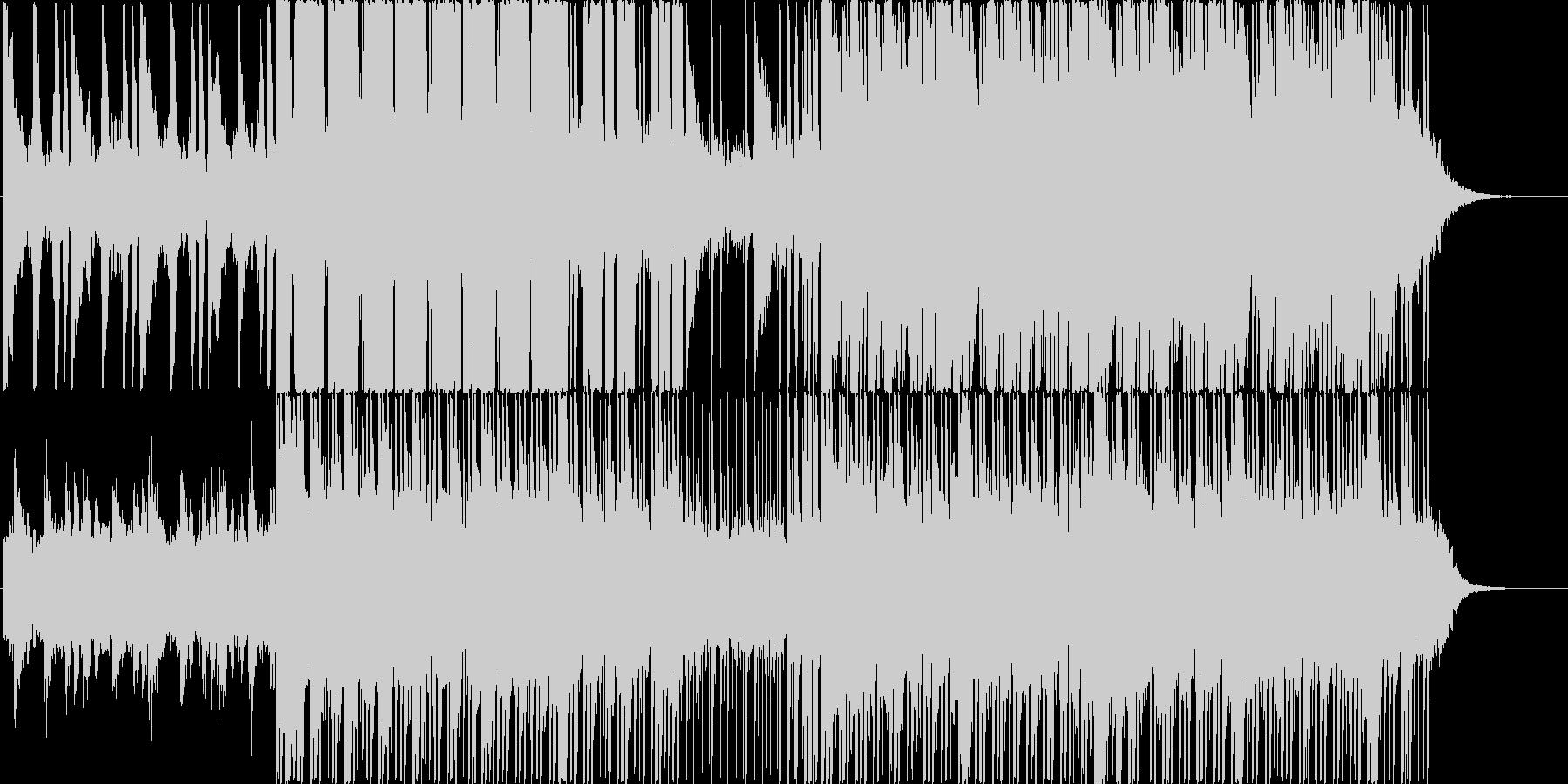 映像向けにの未再生の波形