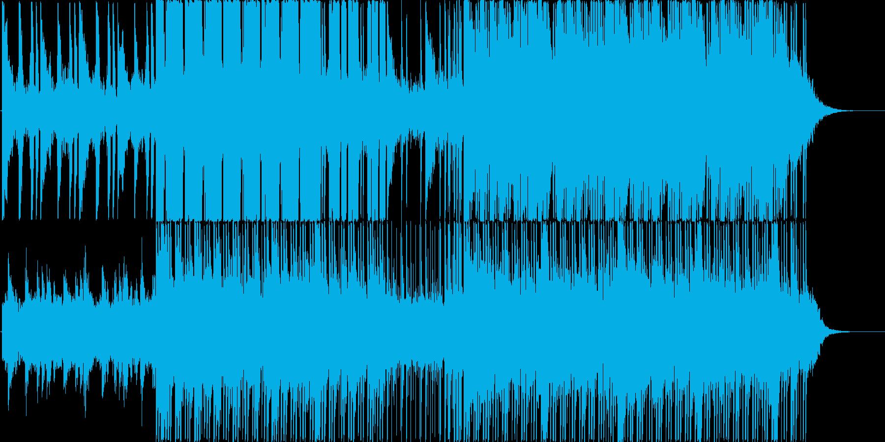 映像向けにの再生済みの波形