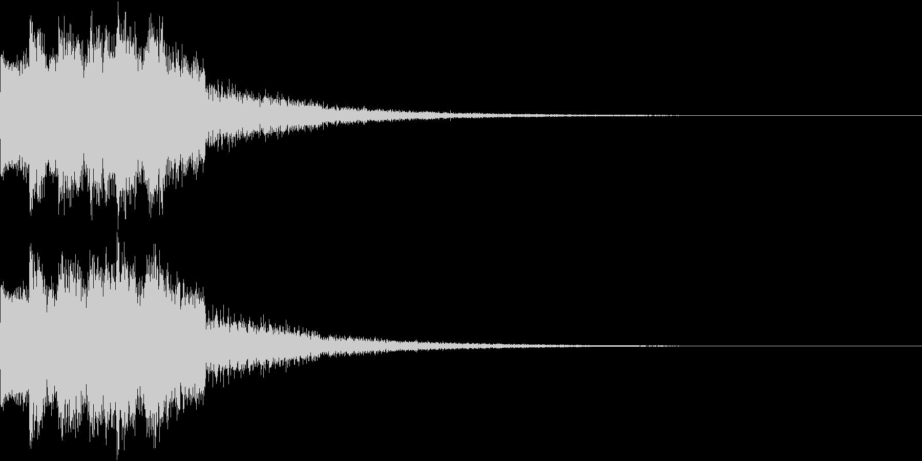 ピコピコ キュルルン ジャンプ Eの未再生の波形