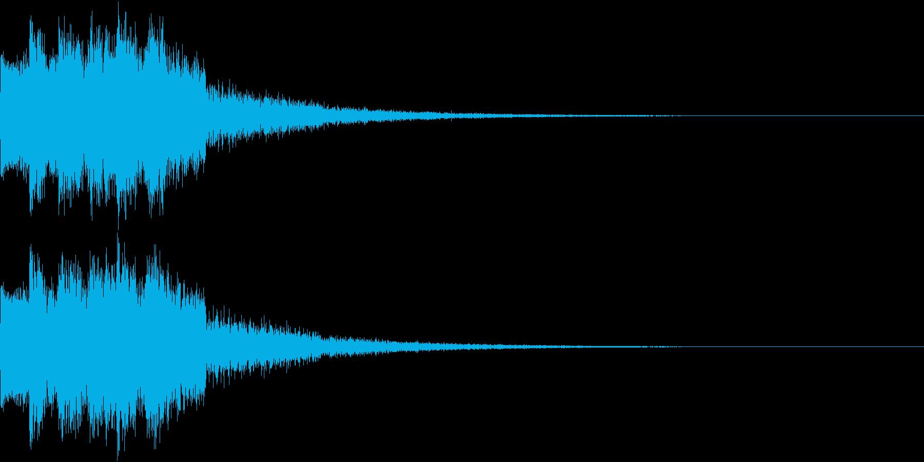 ピコピコ キュルルン ジャンプ Eの再生済みの波形