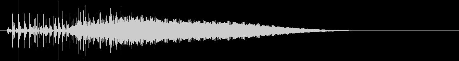 8bit音源の(波動砲ビーム音)1の未再生の波形