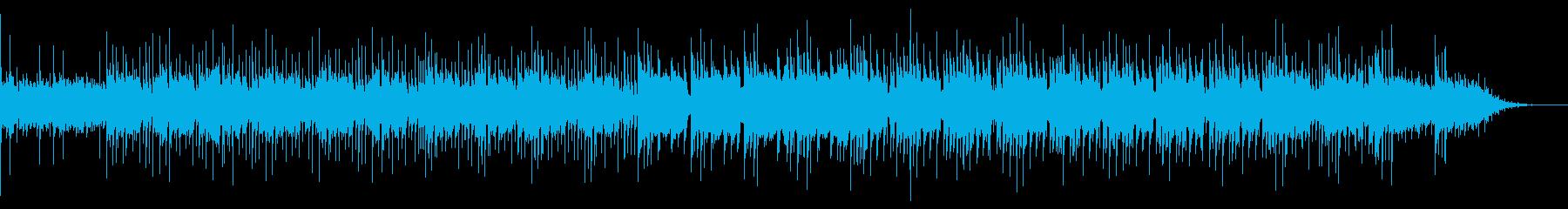 悲しくも美しいベル音が印象的な曲の再生済みの波形