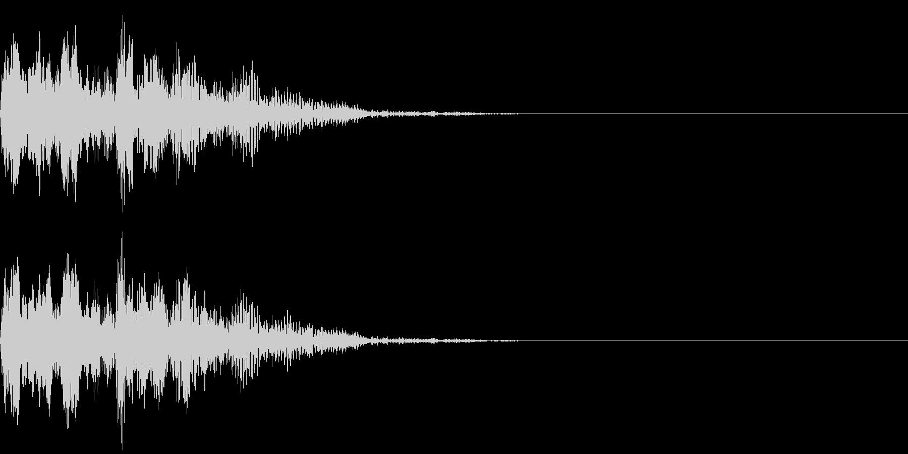 不思議な音(オールド)の未再生の波形