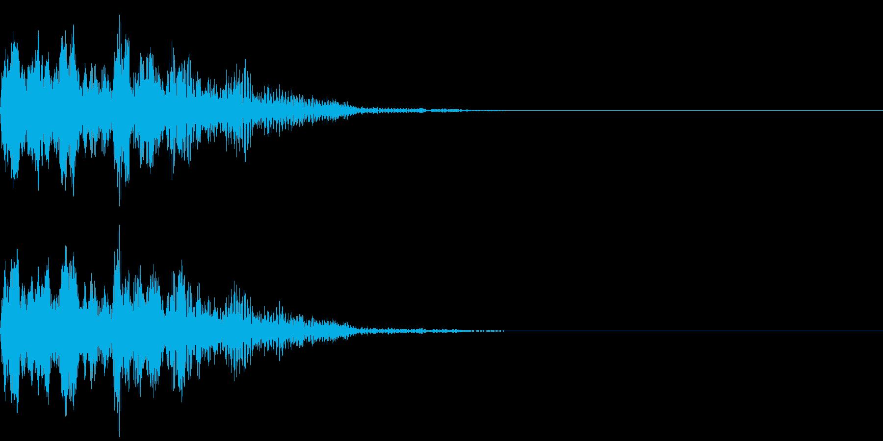 不思議な音(オールド)の再生済みの波形