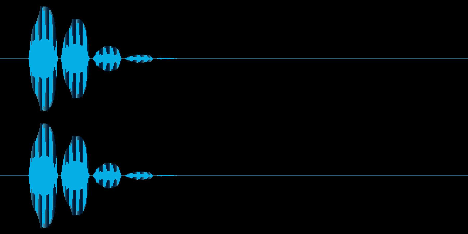 SNES 格闘05-10(選択)の再生済みの波形