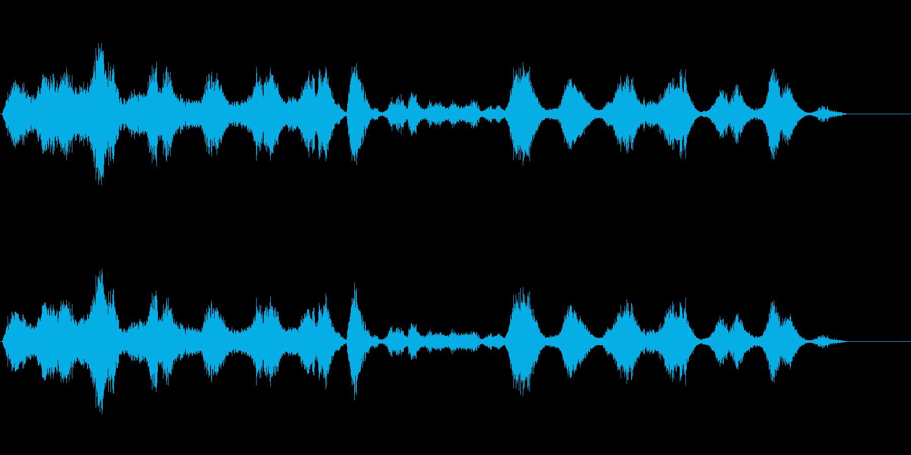 宇宙をイメージして作りましたの再生済みの波形