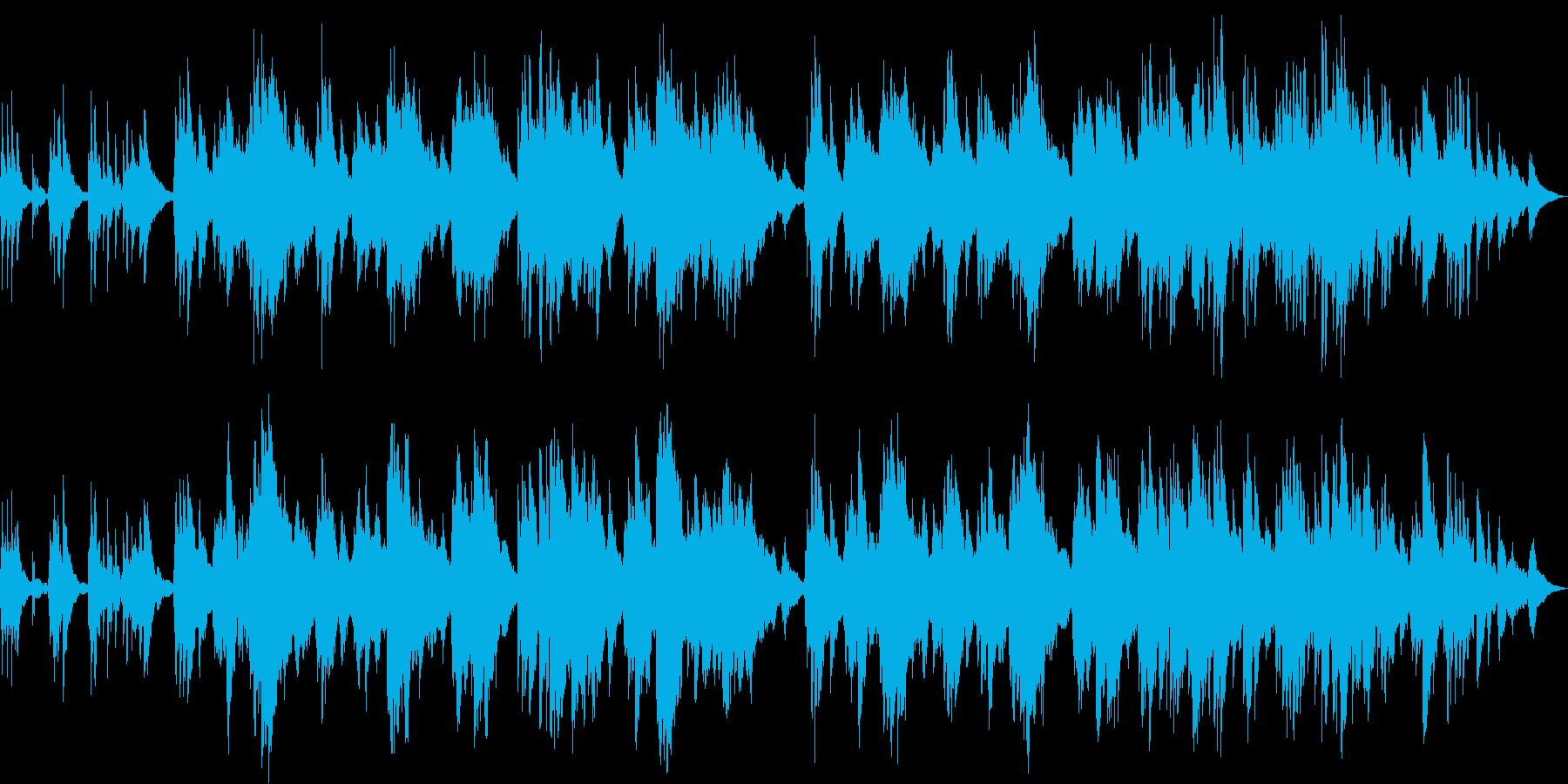 ピアノソロ 夢路より ゆったり癒し系の再生済みの波形