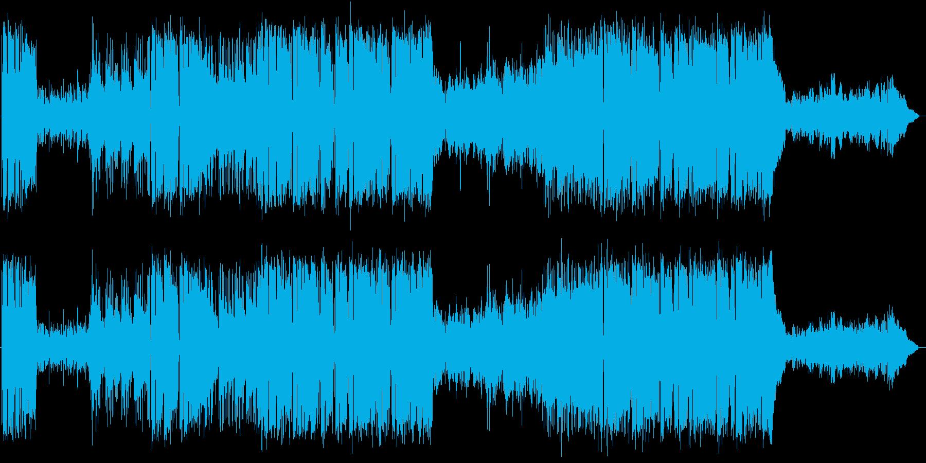 サックスのミディアムテンポのポップスの再生済みの波形