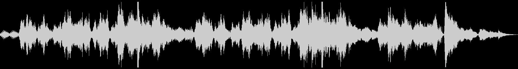 タイスの瞑想 ピアノ・バイオリンカバーの未再生の波形