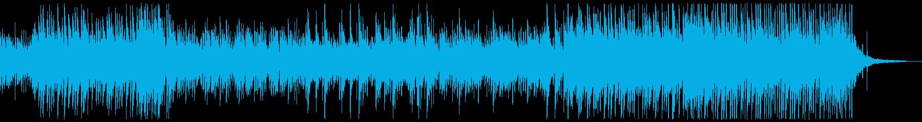 和風でドラマティックなピアノインストの再生済みの波形