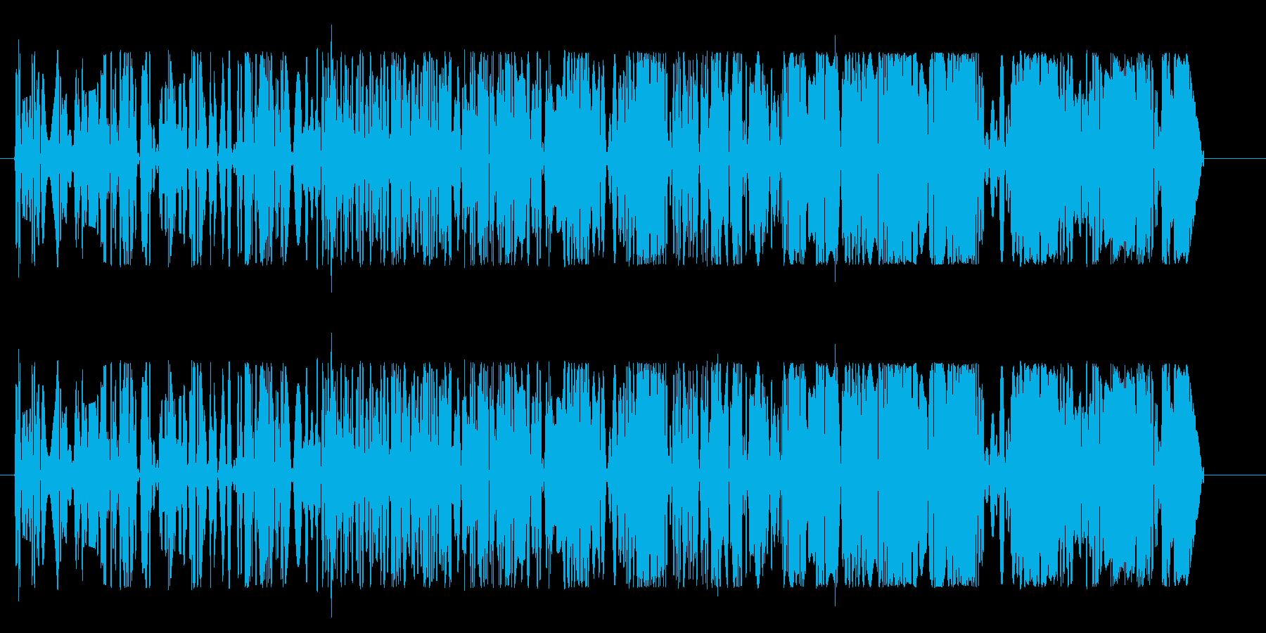 モクモク(回転系の音)の再生済みの波形