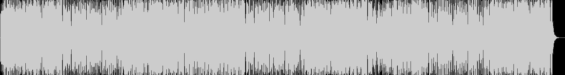 軽やかで牧歌的な懐かしい音楽の未再生の波形