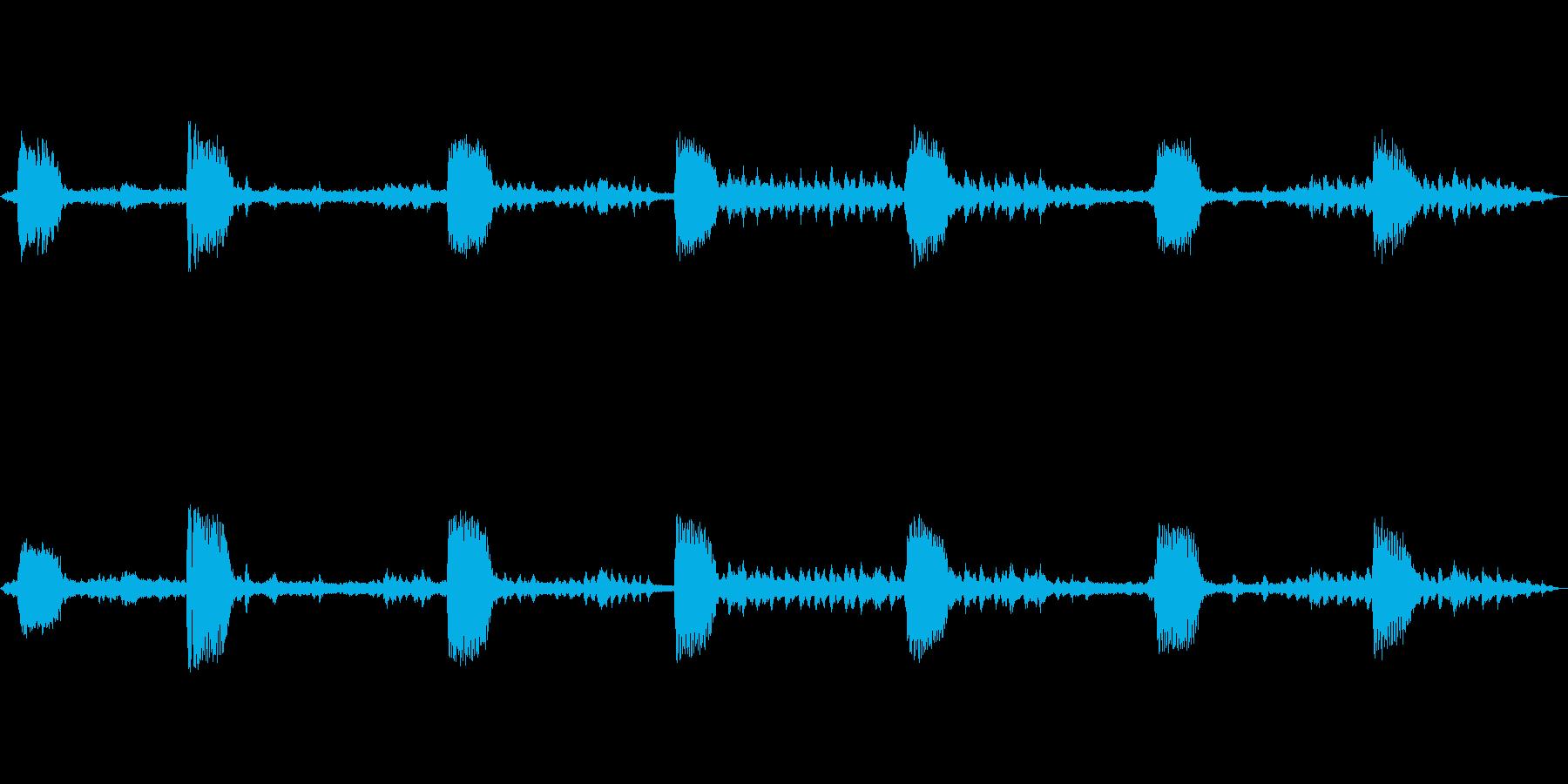 コマドリ 乗鞍高原の再生済みの波形
