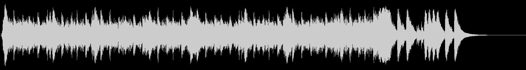 ハリウッド系アイキャッチ04の未再生の波形