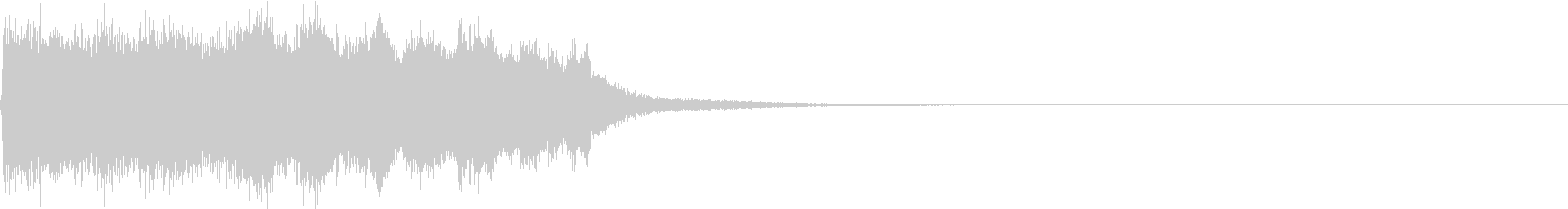 SE ポワーン クイズ出題前 上昇音 4の未再生の波形
