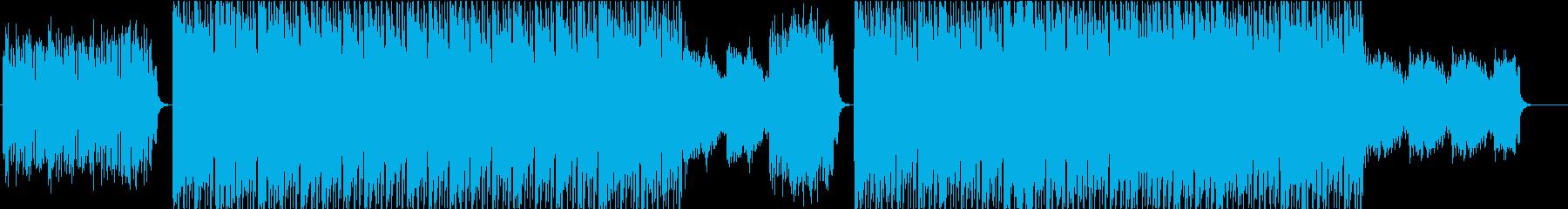 エレクトロニックフュージョン(WAV)の再生済みの波形