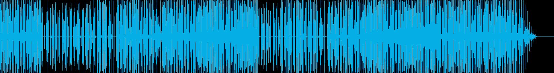 近未来エレクトロの再生済みの波形