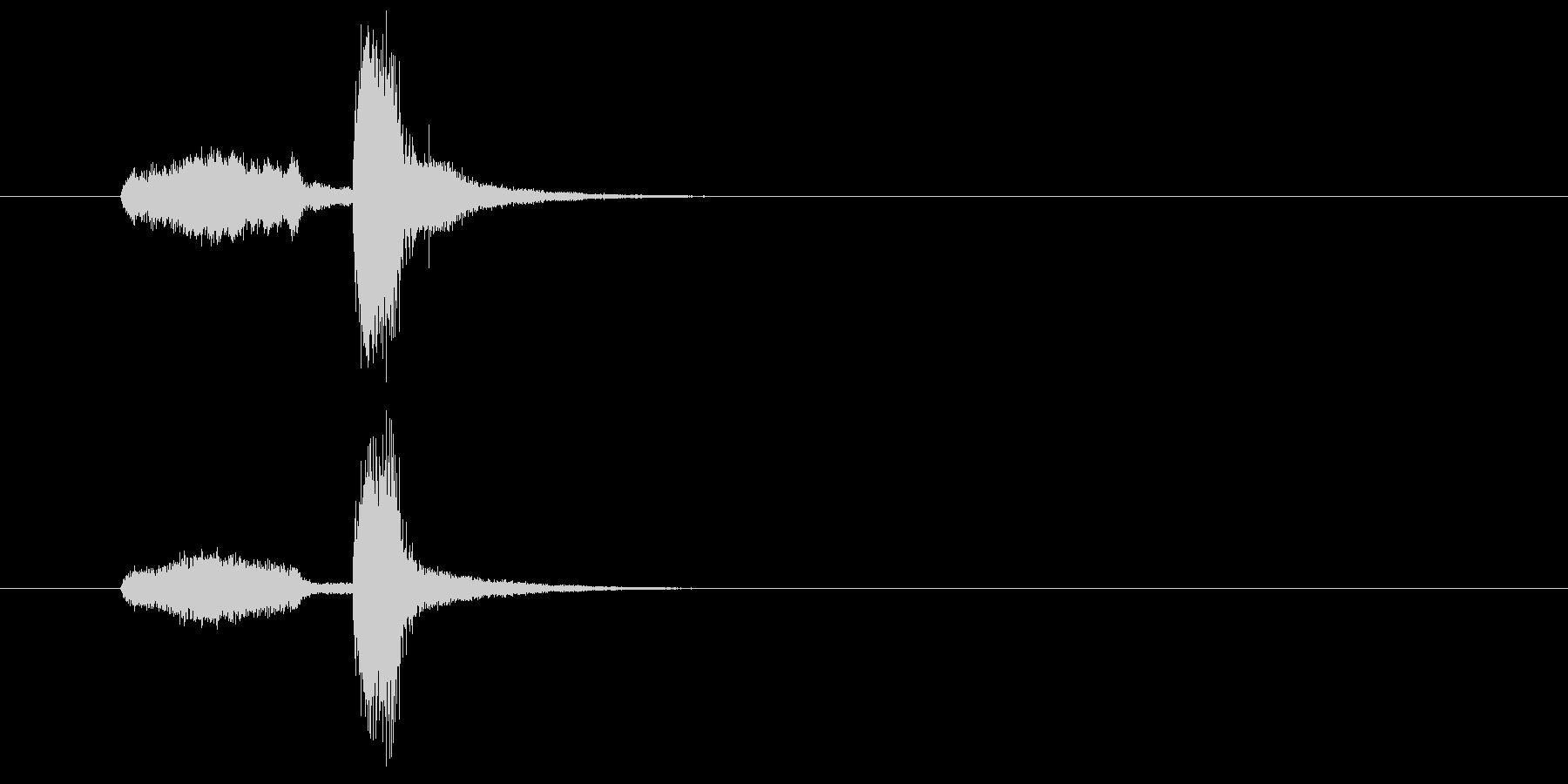 ジングル(ギャグ系)の未再生の波形
