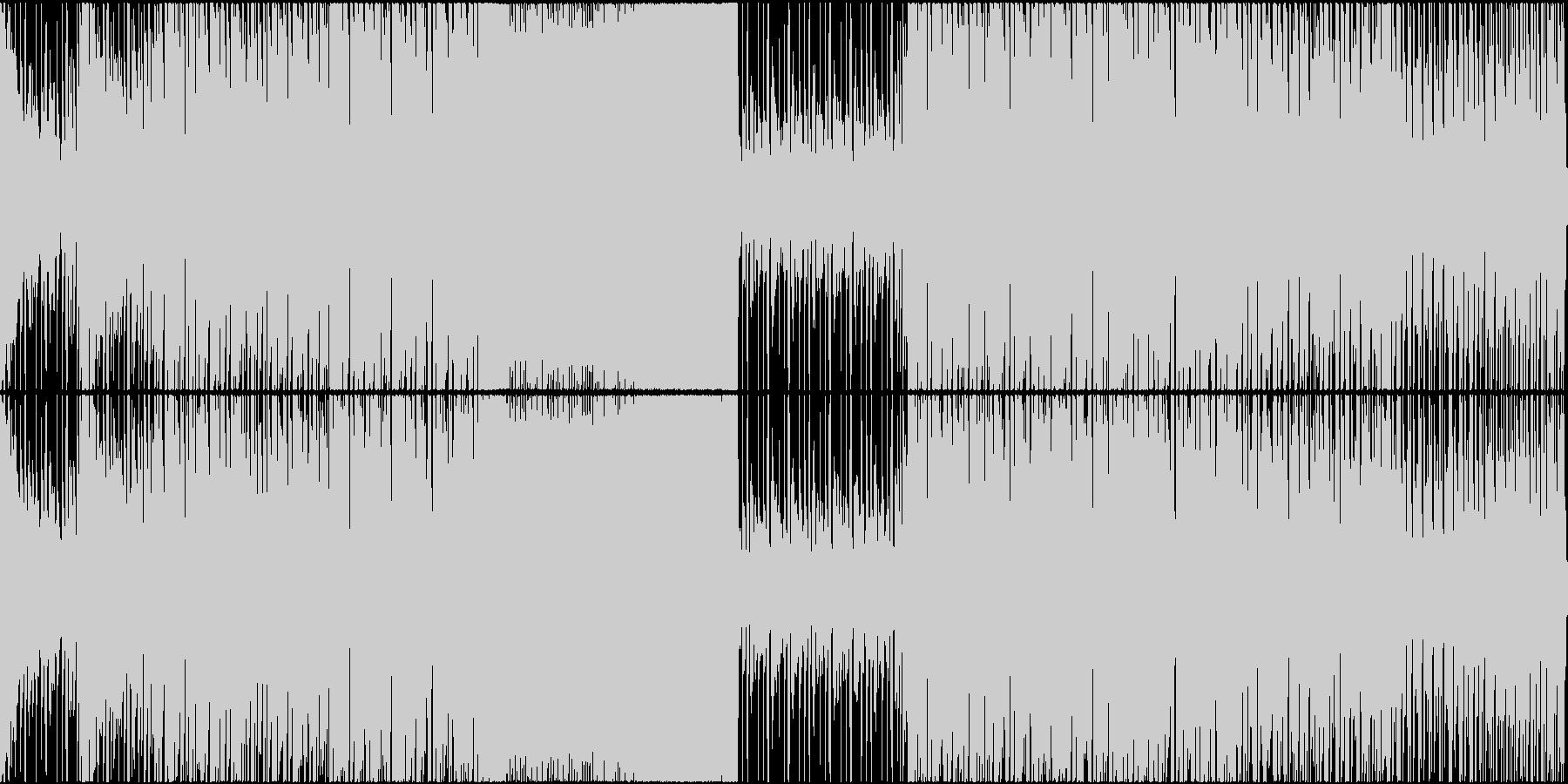 EDM スポーツ オープニング 走る Lの未再生の波形