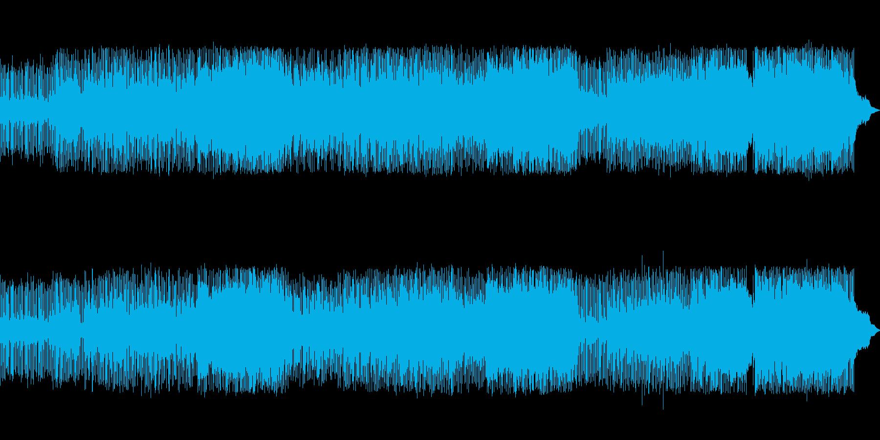 明るく元気の出る英語詞のギターポップの再生済みの波形