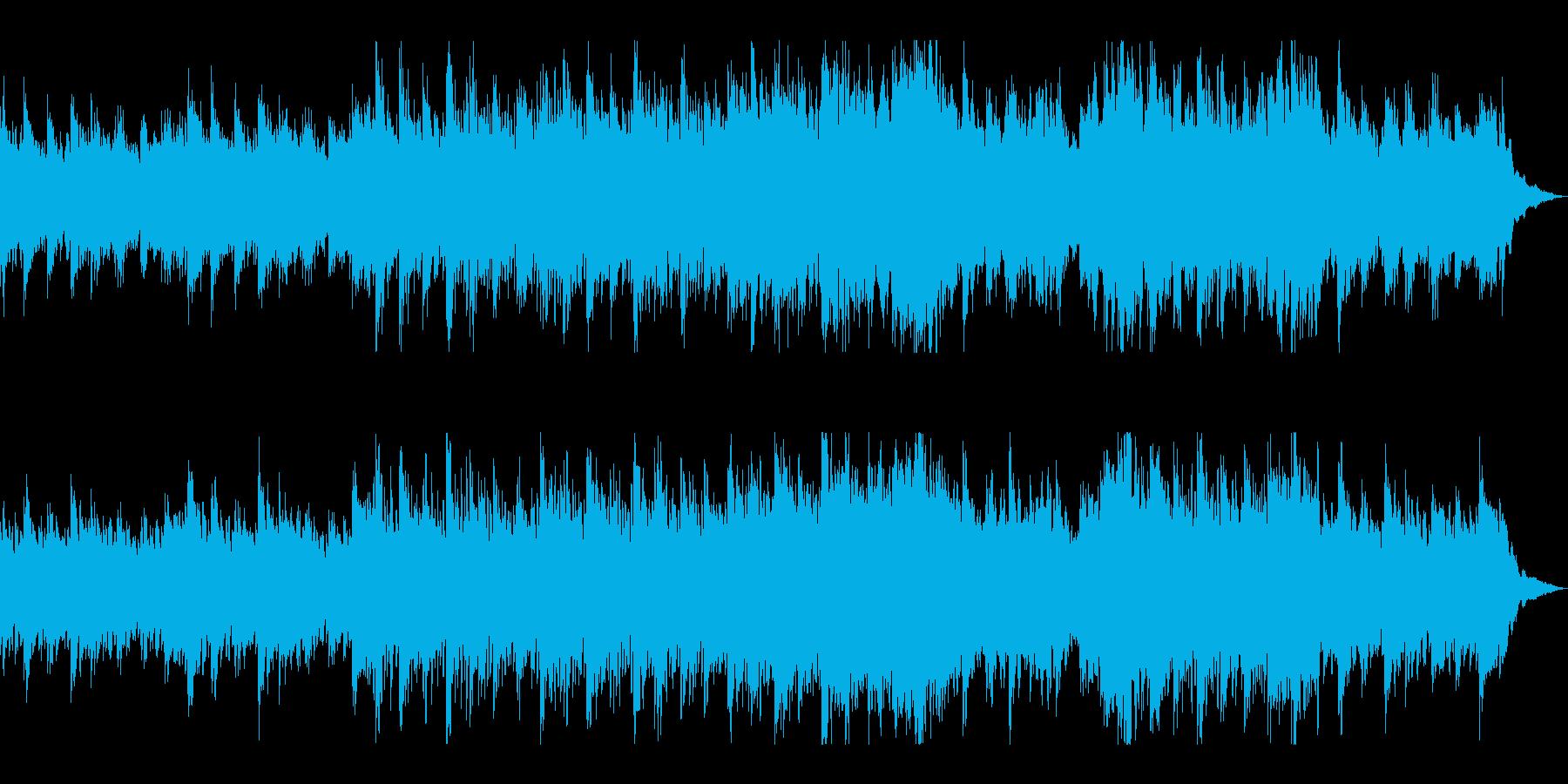 万能曲:シンプルでピアノが印象的の再生済みの波形