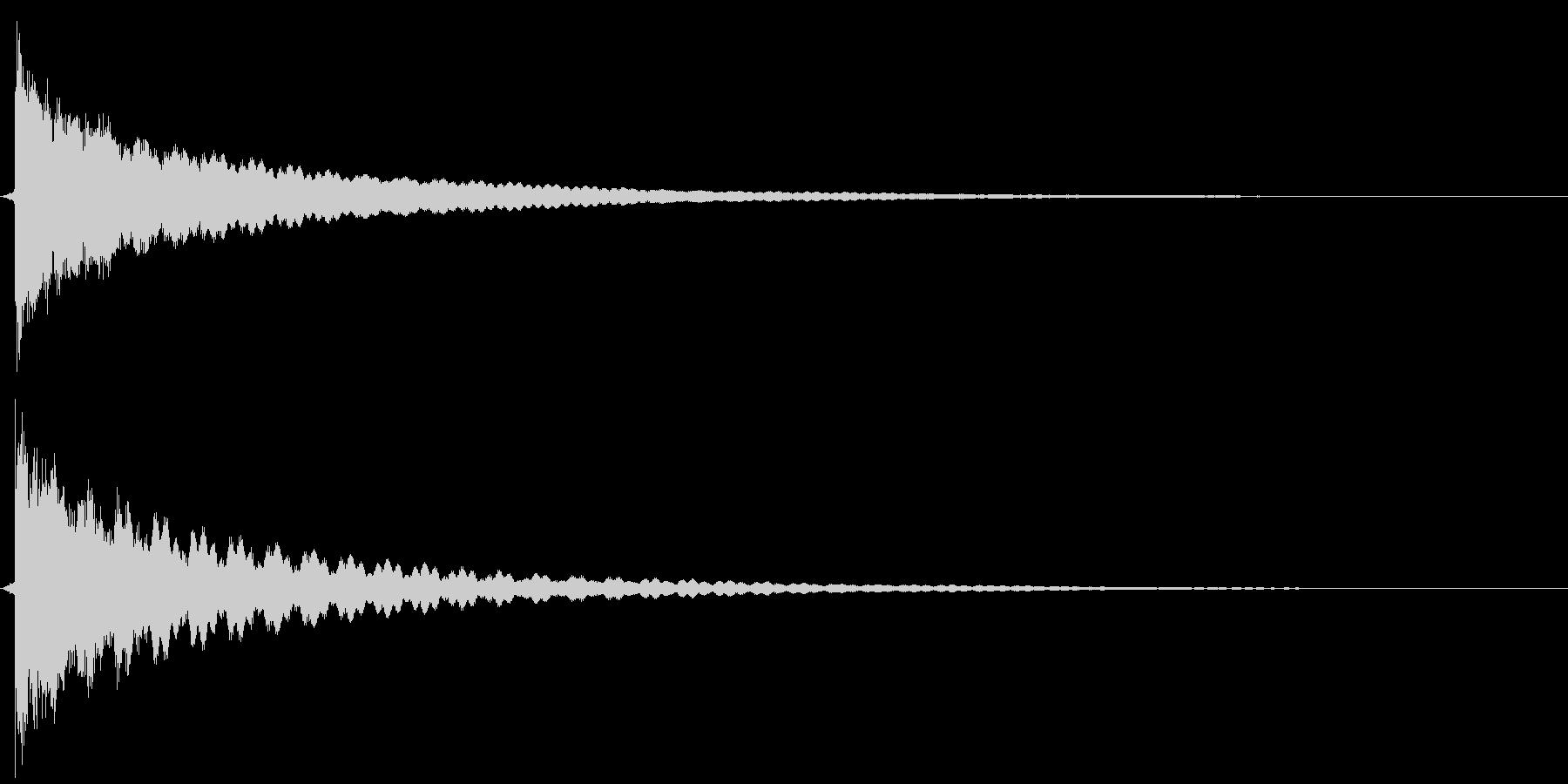 チューン(ベル)の未再生の波形