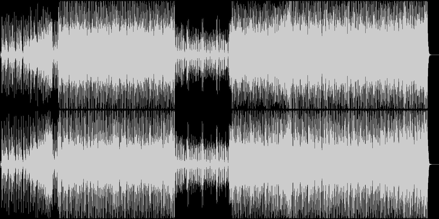 アメリカンでワクワクするコンセプトBGMの未再生の波形