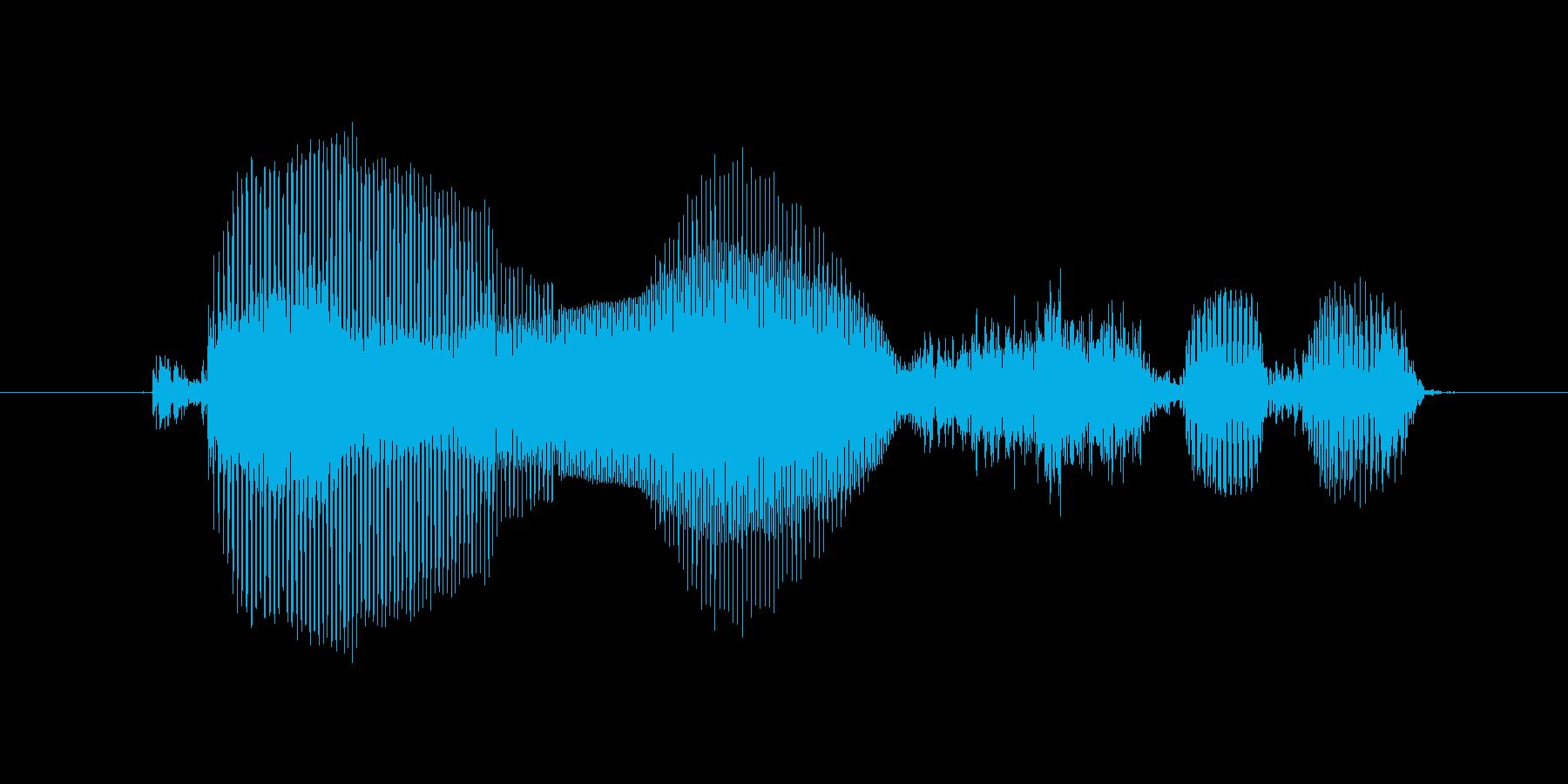 購入するの再生済みの波形