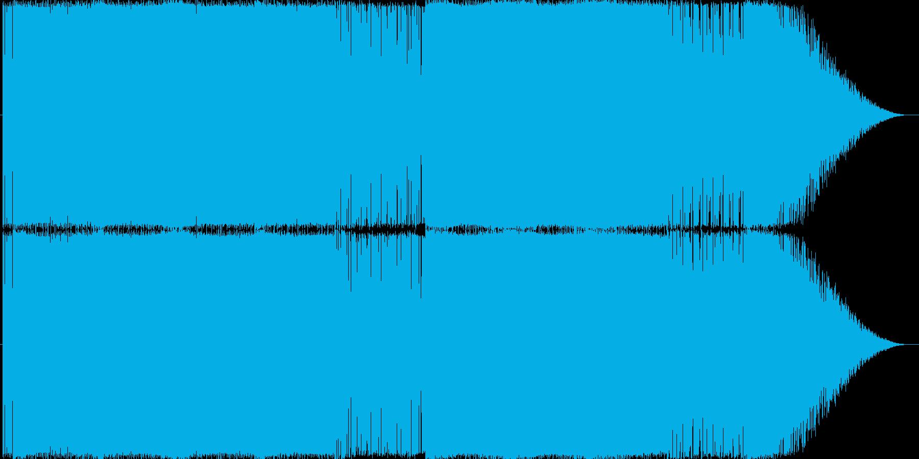 独創的なエレクトロサウンドになります。の再生済みの波形
