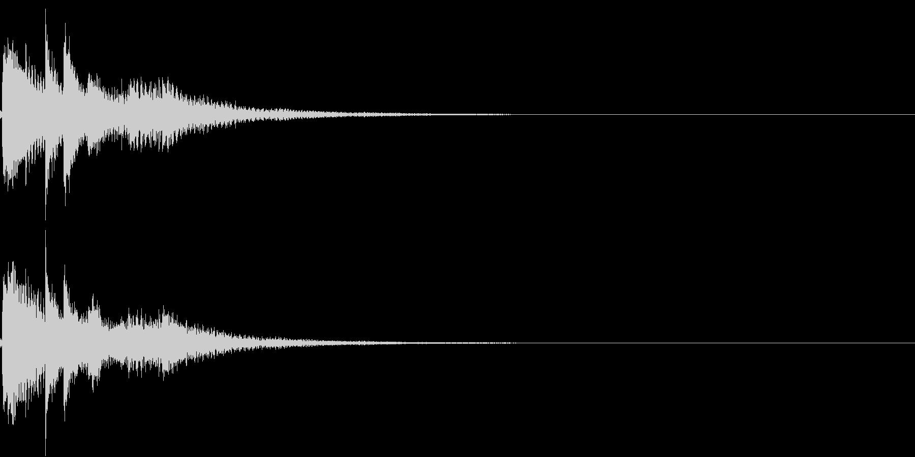 お正月 琴 和風 日本 和楽器 6の未再生の波形