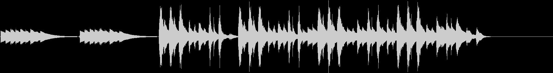 CM音楽ストリングス&オルゴールの未再生の波形