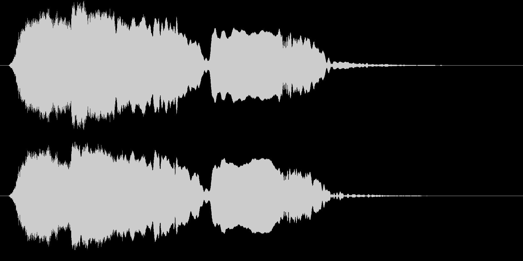 音侍SE「尺八フレーズ1」エニグマ音04の未再生の波形