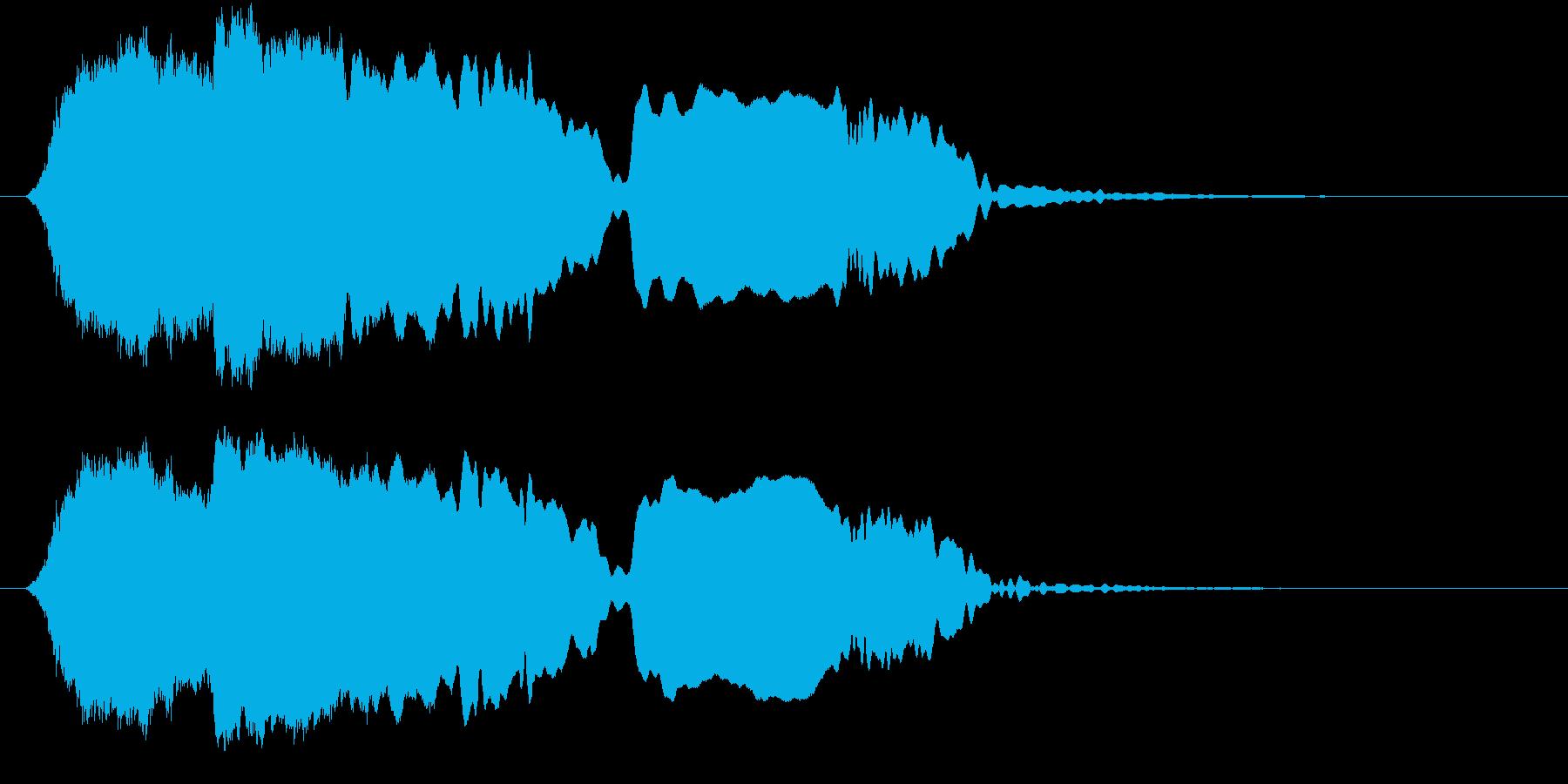 音侍SE「尺八フレーズ1」エニグマ音04の再生済みの波形