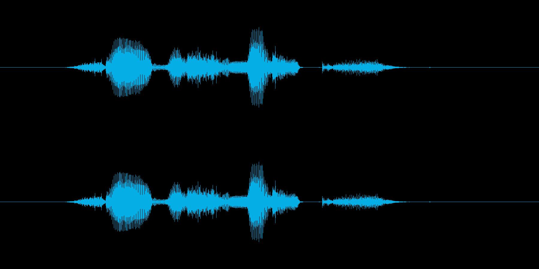 【システム】セーブしますか? - 2の再生済みの波形