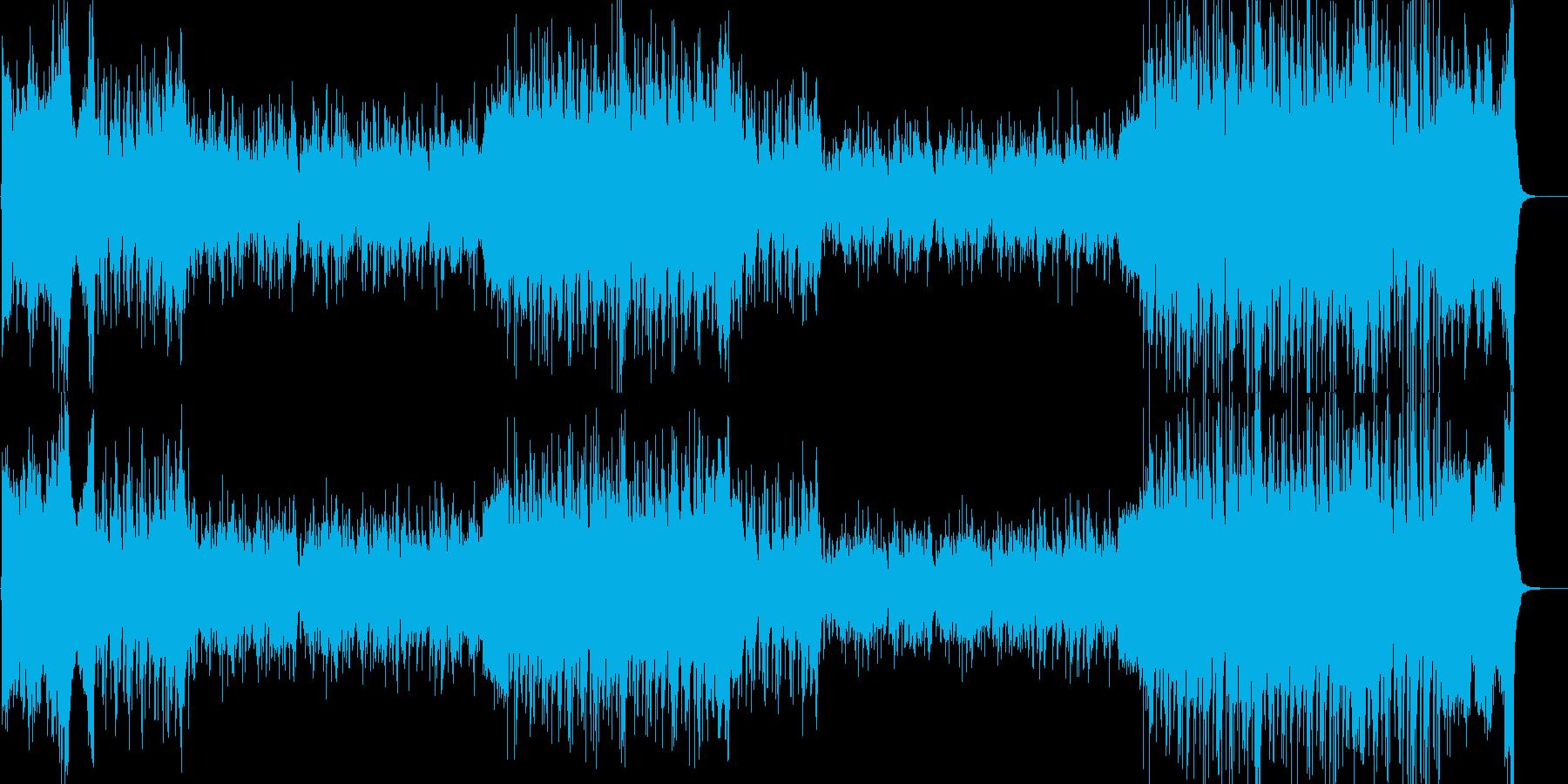 白亜紀の恐竜、ガリミムスの大移動。の再生済みの波形