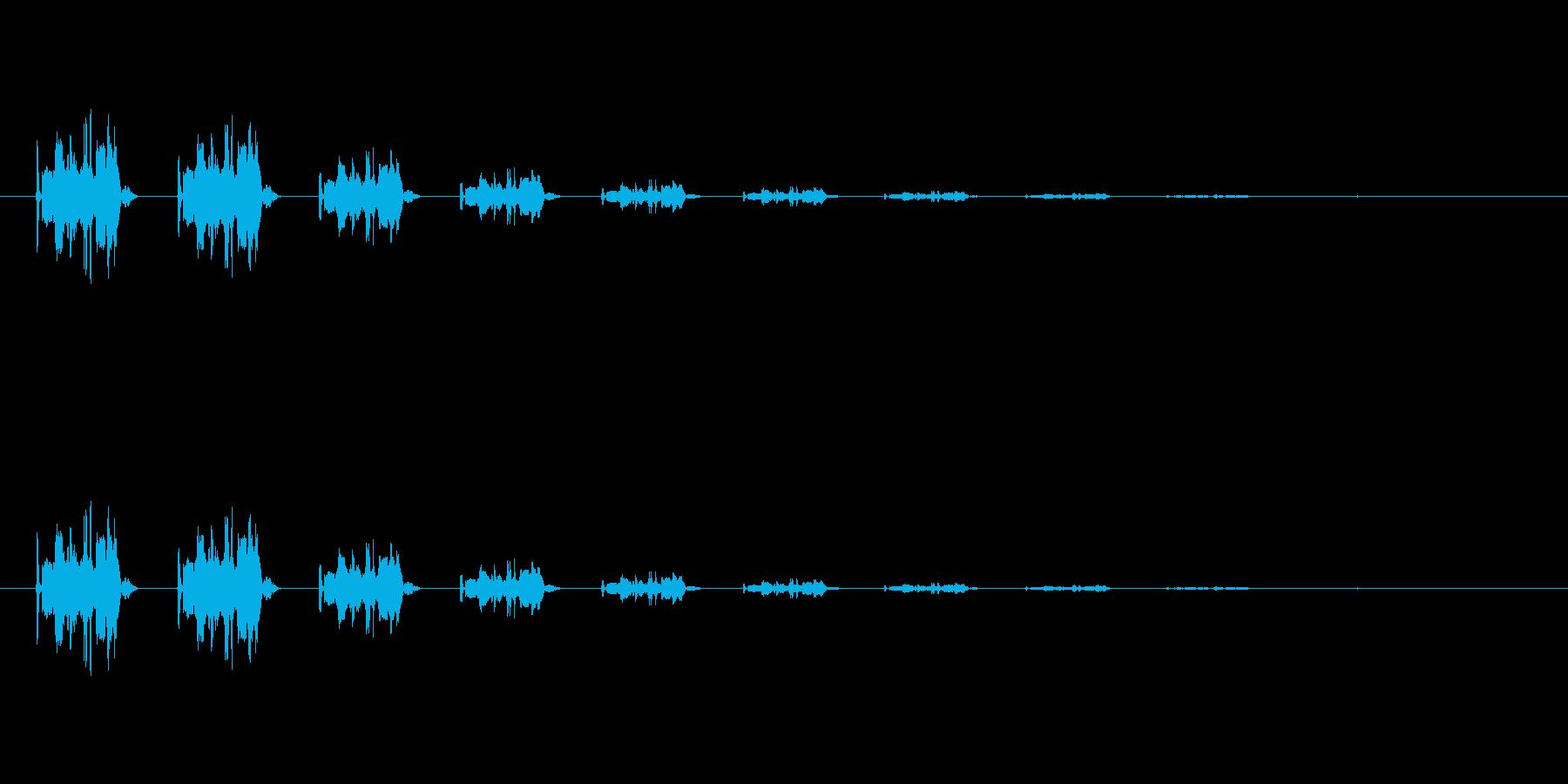 【骨折01-5】の再生済みの波形