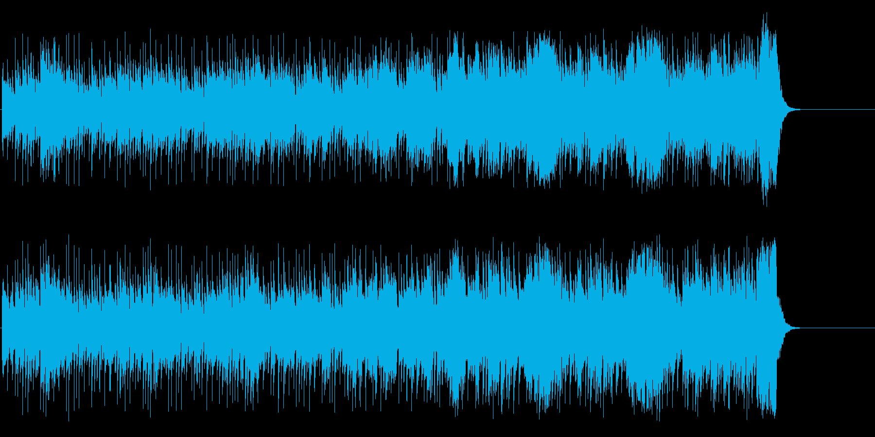心弾む清々しいポップの再生済みの波形