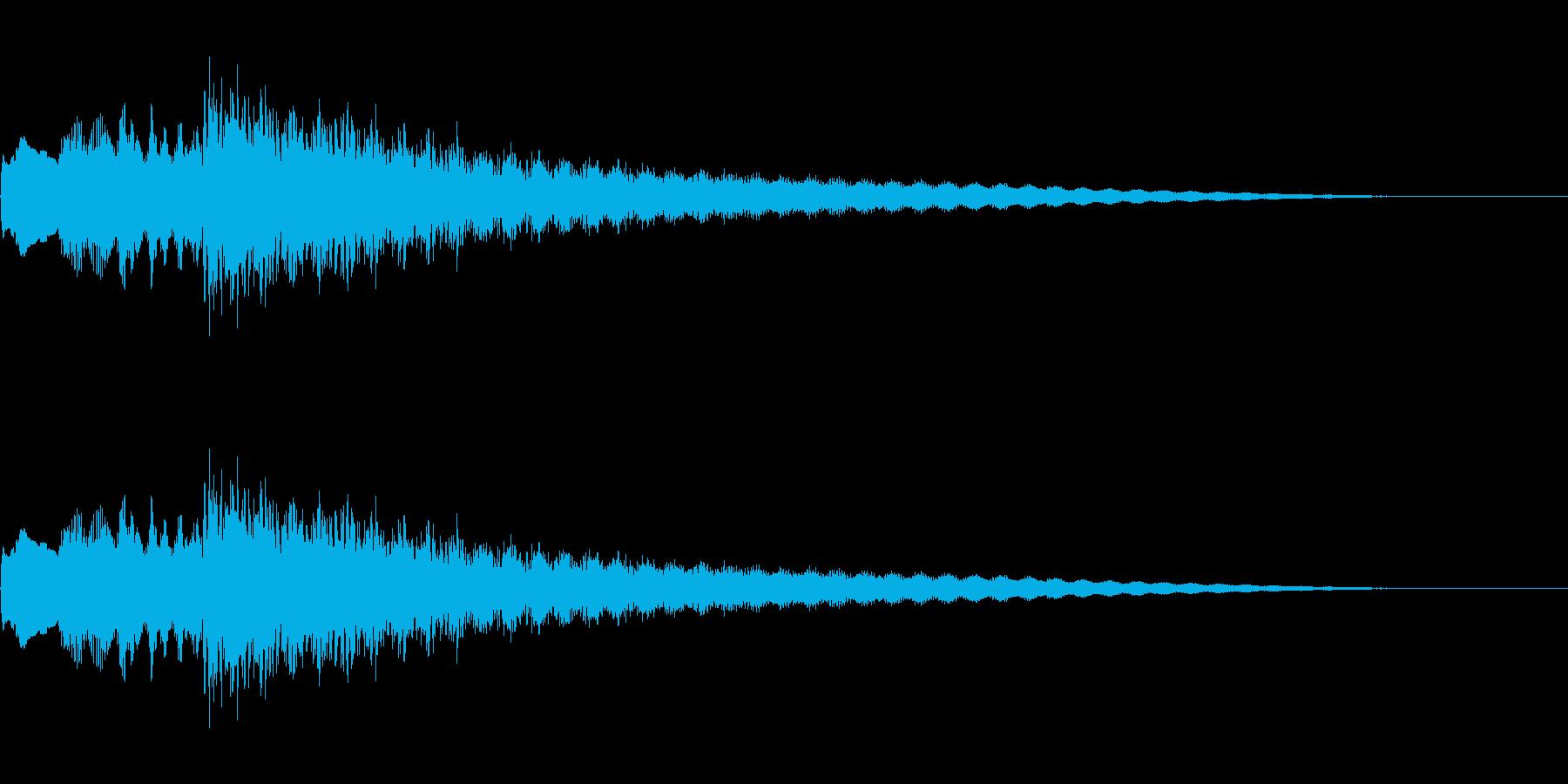 サスペンス風なギター音です。の再生済みの波形