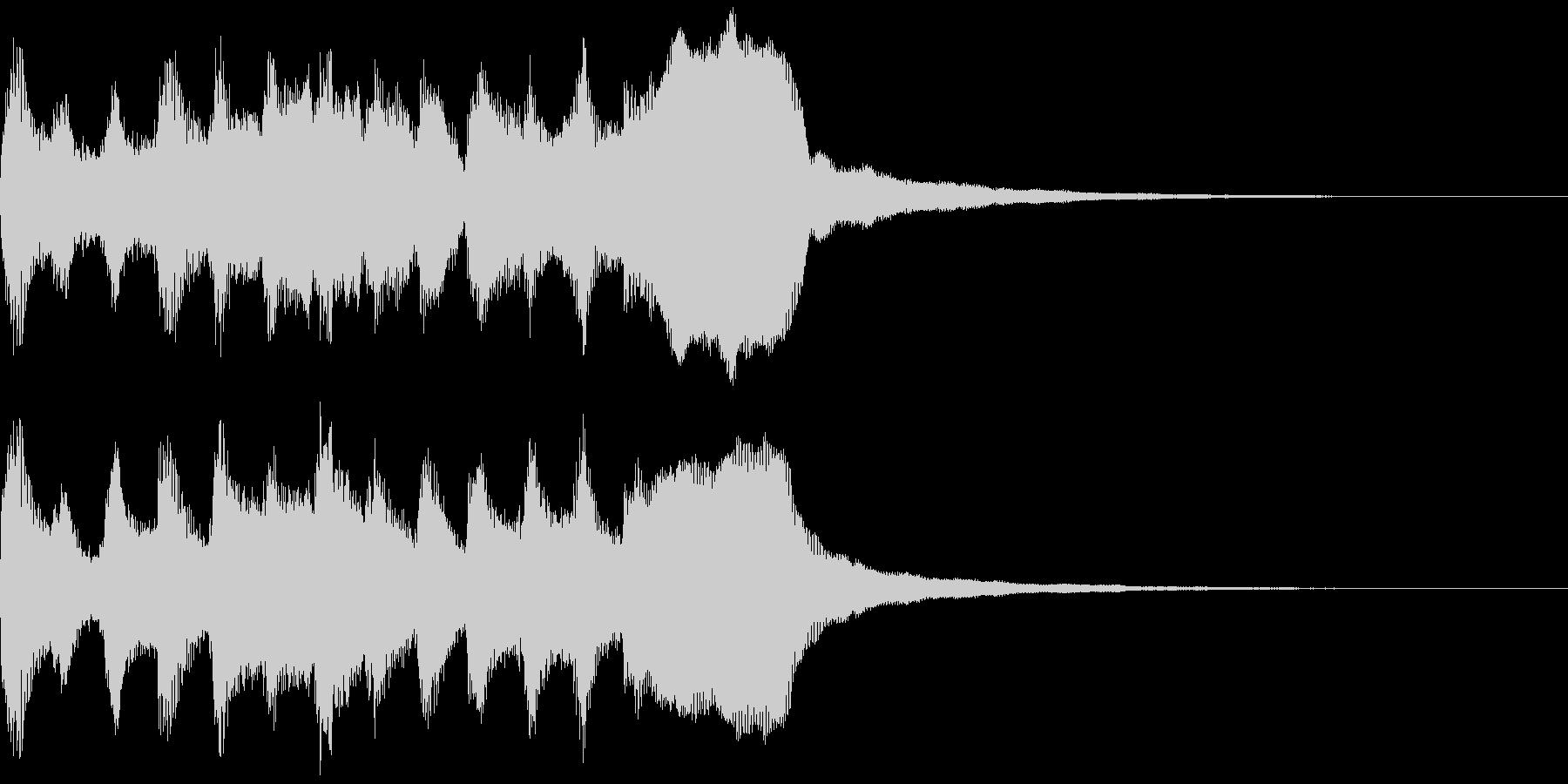 サウンドロゴ、ゴージャス感、verCの未再生の波形