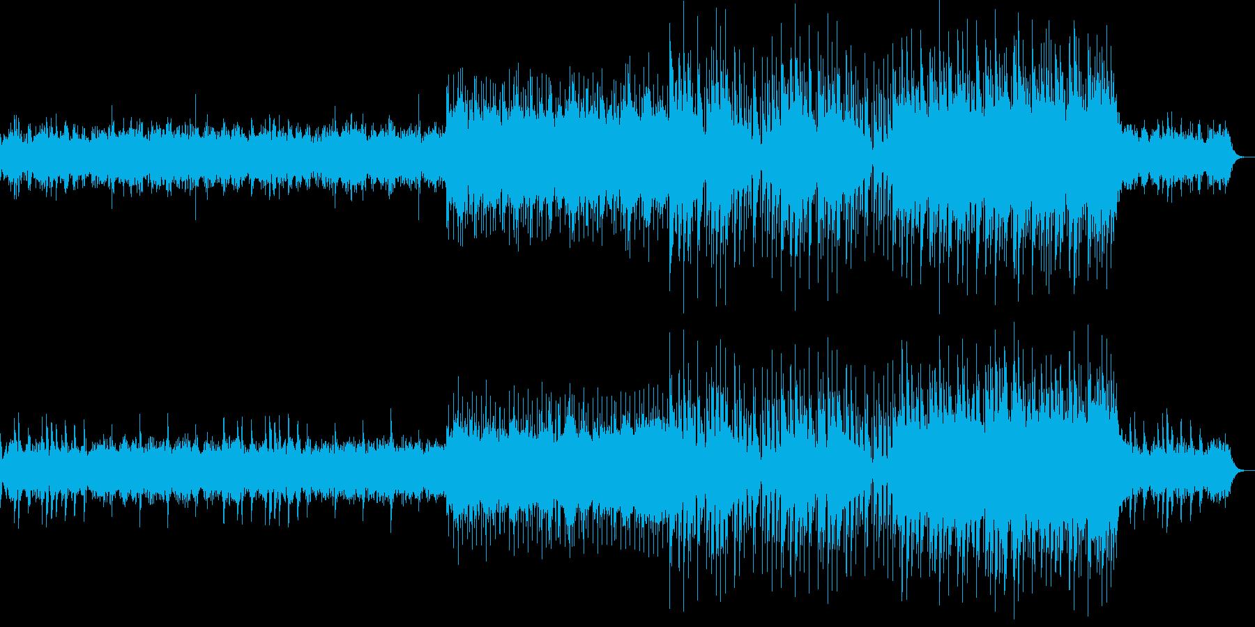 神秘的でノスタルジックな楽曲の再生済みの波形