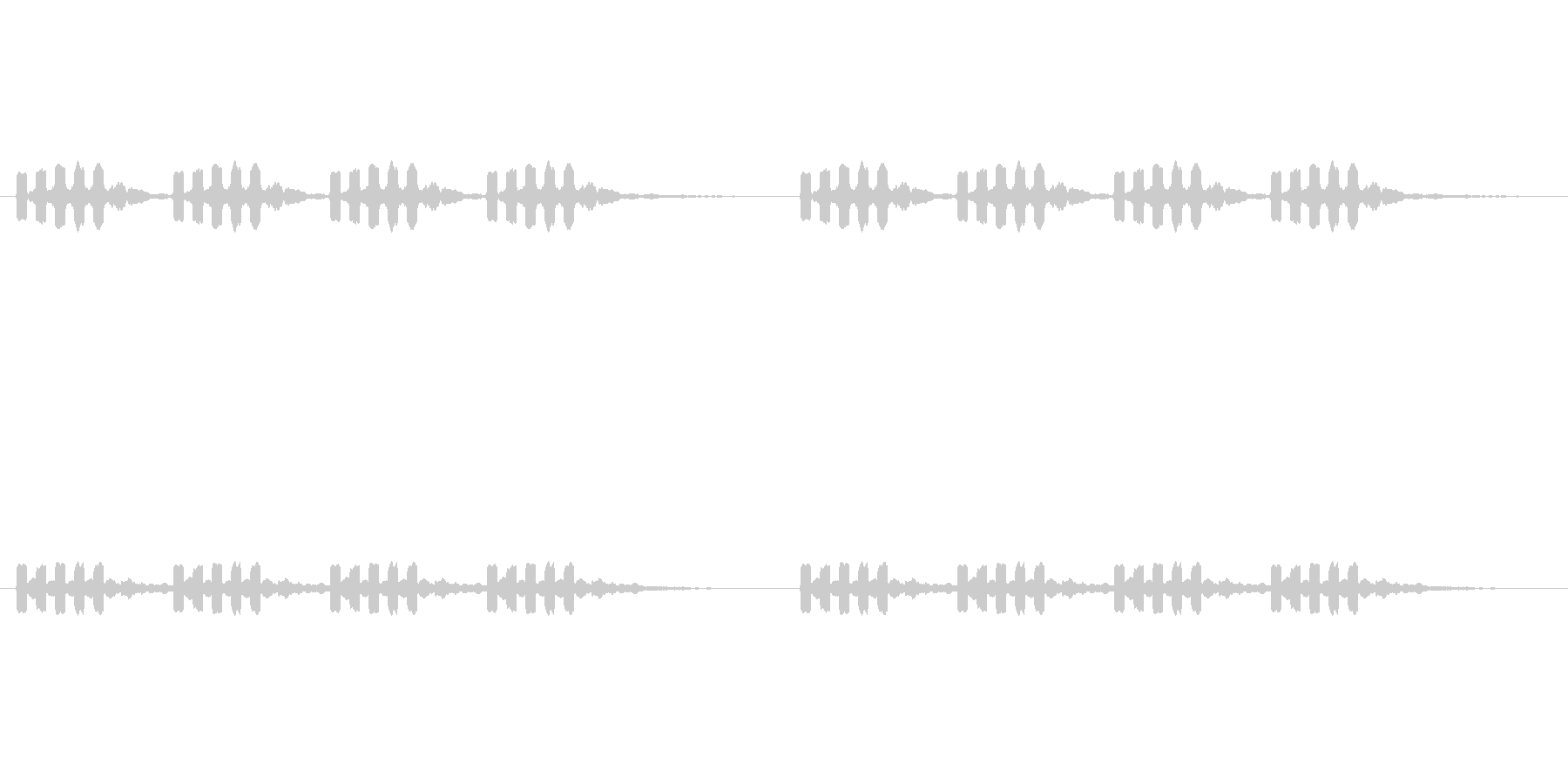 【携帯電話 着信音02-4L】の未再生の波形