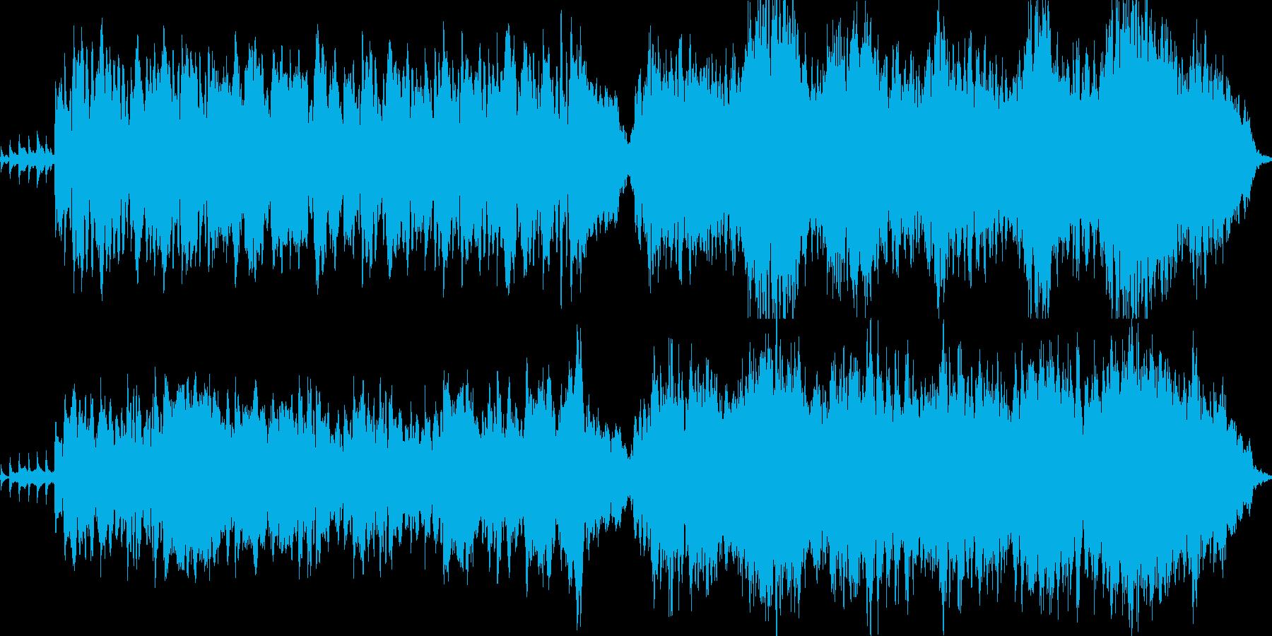 約1分の曲です。初恋の切ない思いを表現…の再生済みの波形
