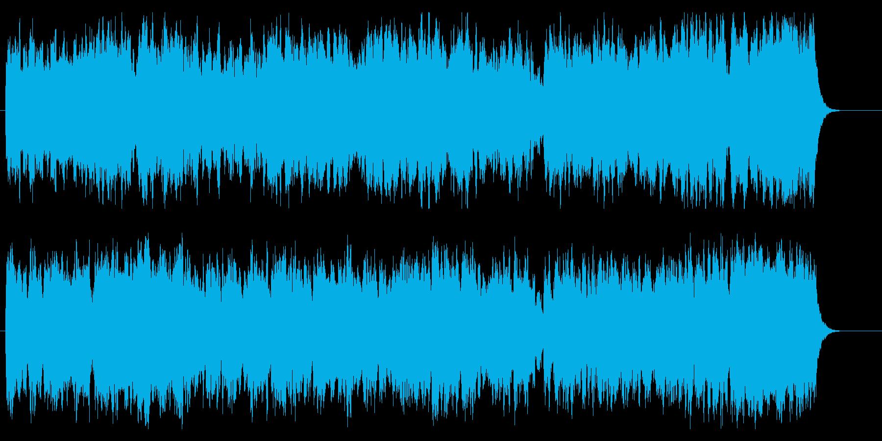 【オーケストラ】オープニング曲の再生済みの波形