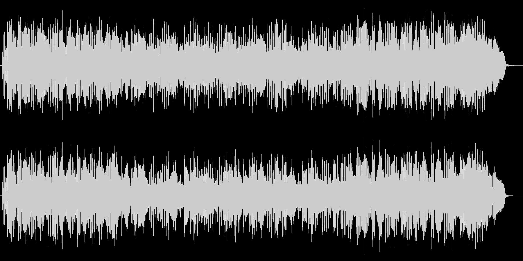 ハーモニカ生演奏哀愁漂うロックバラードの未再生の波形
