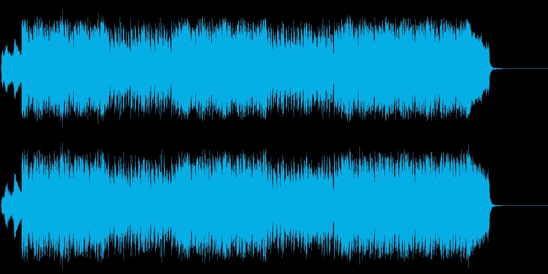 ビートにやる気がみなぎるファンキーポップの再生済みの波形