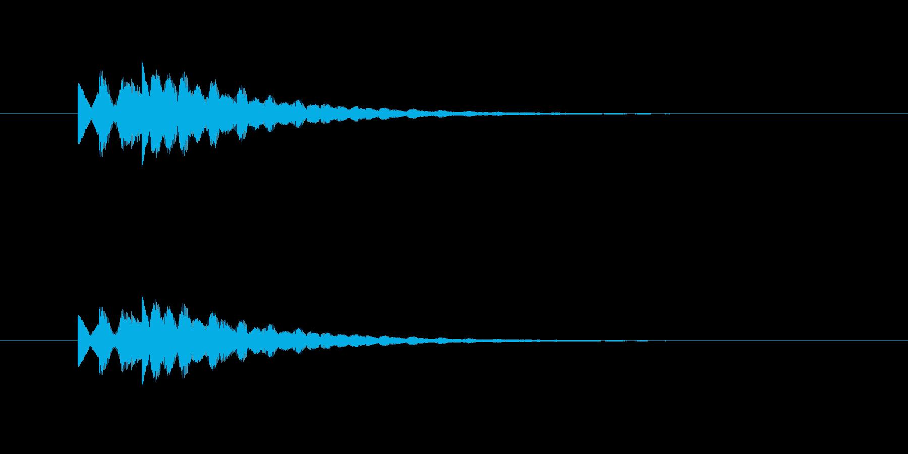 ピロリロリン(透明感、爽やか)の再生済みの波形