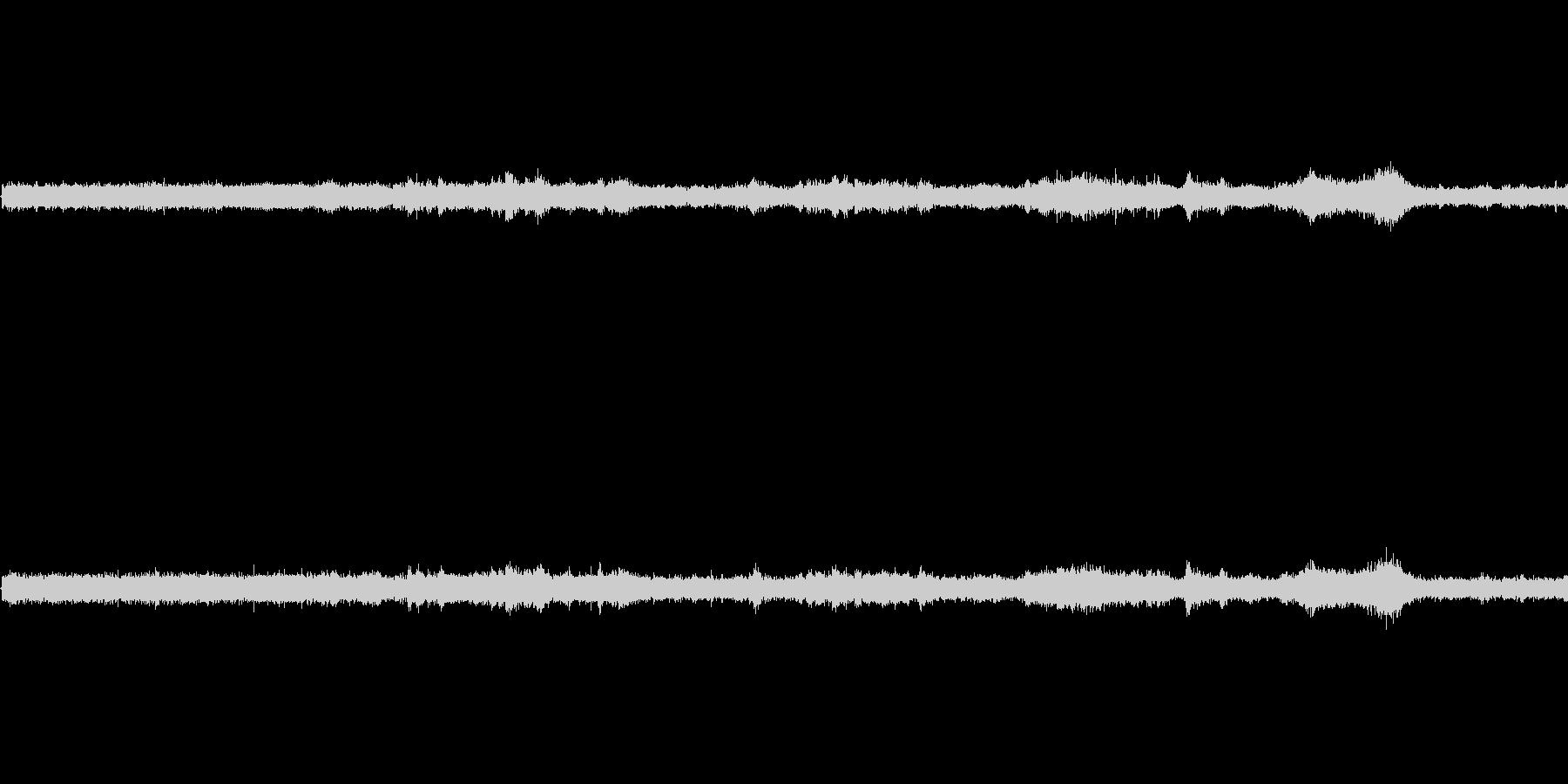 【生音】夏の日の通行音 - 9 「みー…の未再生の波形