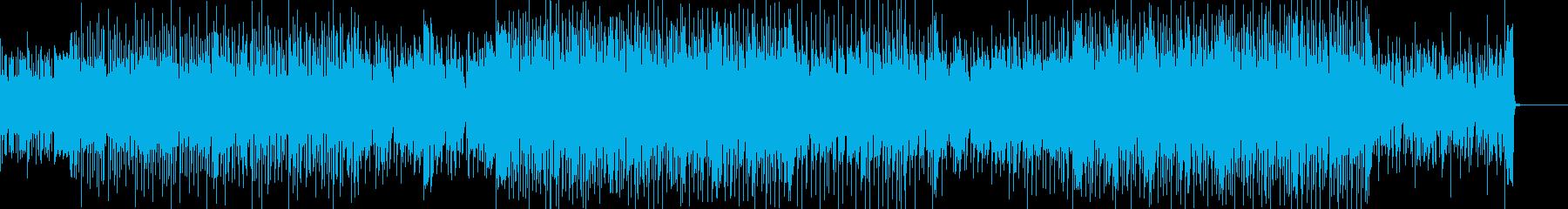 切なくかっこいいリズムのEDMの再生済みの波形