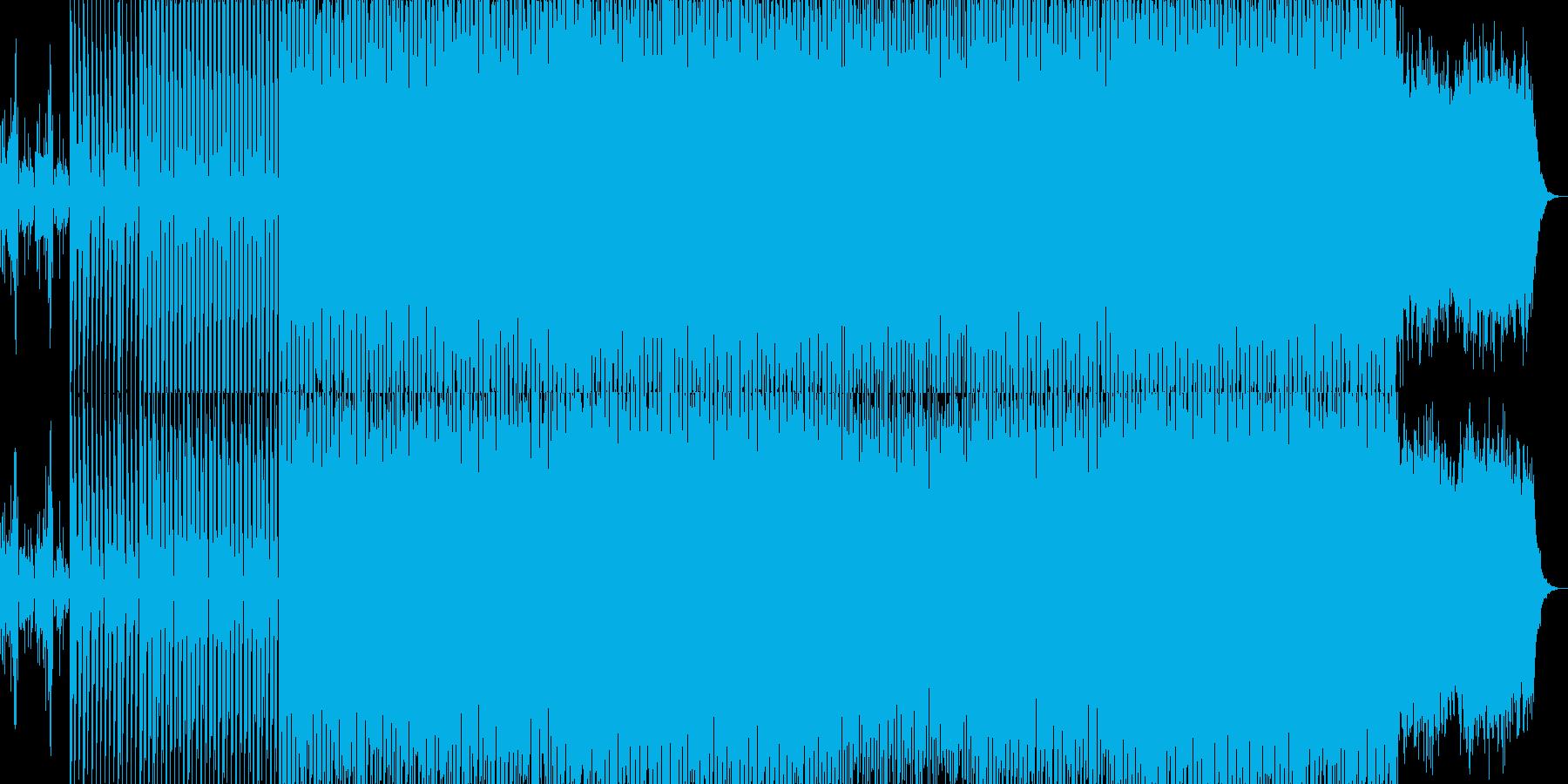 EDMクラブ系ダンスミュージック-57の再生済みの波形