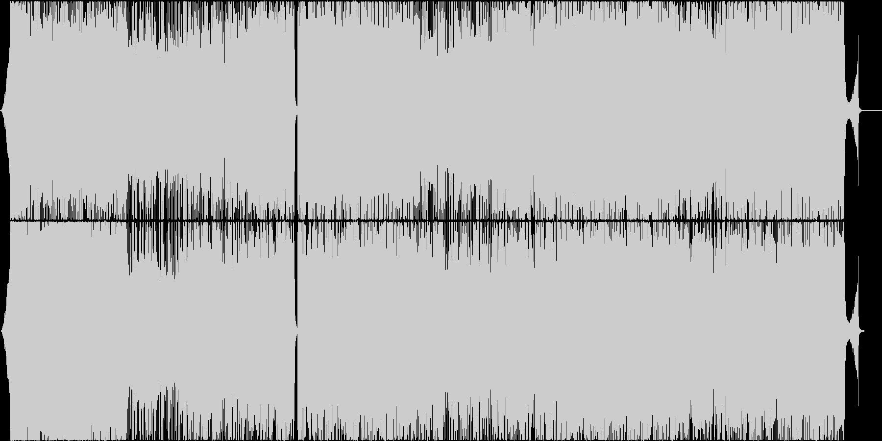 勝ち確定!!勢いのあるピアノロックの未再生の波形